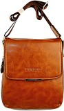 Lion Heart Messenger Bag (Tan)
