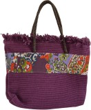 Jute Root Shoulder Bag (Purple)