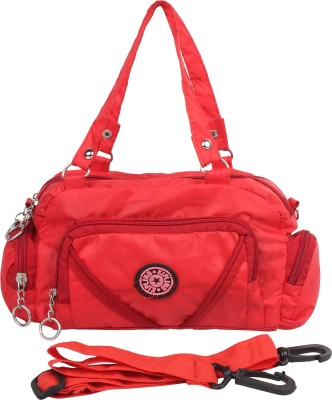 Cottage Accessories Women Red PU Sling Bag