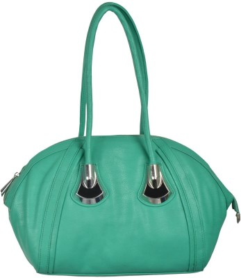 Gouri Bags Hand-held Bag(Green)