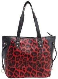 Liza Messenger Bag(Red, Black)