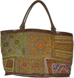 Lal Haveli Satchel (Multicolor)