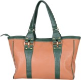 Amore Roza Satchel (Tan, Green)