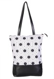 Bags For Life Tote (White, Black)