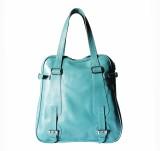 Hibiscus Shoulder Bag (Blue)