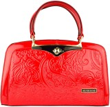 Silver Rose Hand-held Bag (Red)