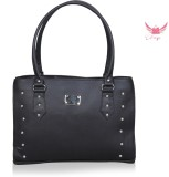Freya Messenger Bag (Black)