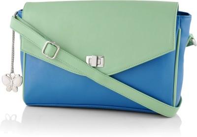 Butterflies Sling Bag(Blue, Green)