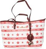 Parv Collections Shoulder Bag (Pink, Whi...