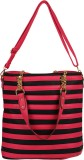 Naitik Products Satchel (Red, Black)