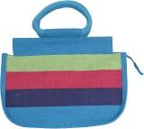 Jute Tree Hand-held Bag (Blue)