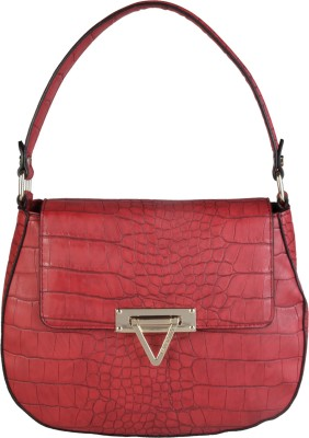 MARIO VALENTINO Hand-held Bag(Red) at flipkart