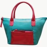Jeane Sophie Hand-held Bag (Blue, Pink)
