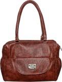 JOVIAL BAGS Hand-held Bag (Brown)