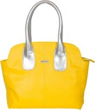 Bern Hand-held Bag (Yellow, Silver)