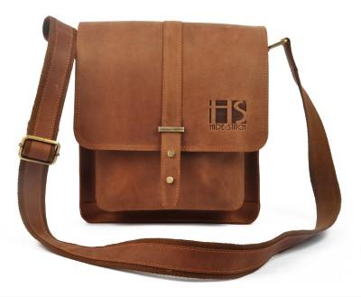 HIDE STITCH Messenger Bag