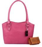 Roseberries Shoulder Bag (Pink)