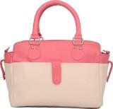 Bagsy Malone Hand-held Bag (Beige, Pink)