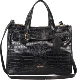 Lavie Women Casual Black Leatherette Tot...