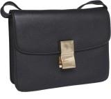Fur Jaden Sling Bag (Black)