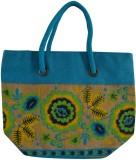 Jute Root Shoulder Bag (Blue)