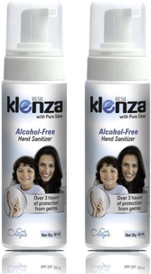 Klenza Alcohol Free Cool Cologne Foam (Pack of 2) Hand Sanitizer