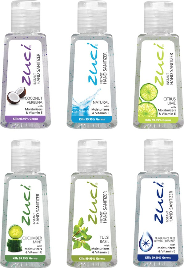 Zuci Natural 30ml Hand Sanitizer 144 Units - Assorted variants(30 ml)
