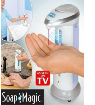 Shrih Hands Free Soap Dispenser Hand Wash & Hand Sanitizer