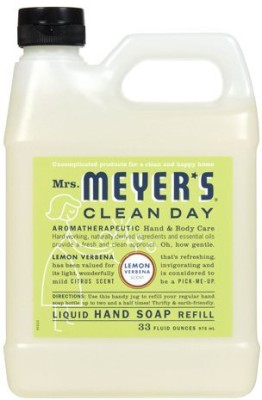 Mrs. Meyer's Clean Day mrs. meyer's liquid hand soap refill, lemon verbena, 33 fluid ounce