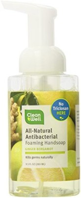 Cleanwell all-natural antibacterial foaming hand wash