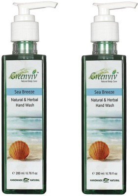 Greenviv Natural & Herbal - Sea Breeze Hand Wash