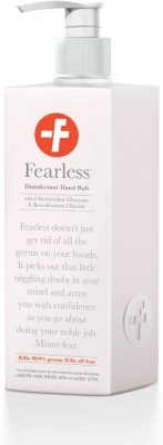 Fearless Pharma Disinfectant Hand Rub- 500 ml Dispenser Pump Bottle Hand Sanitizer