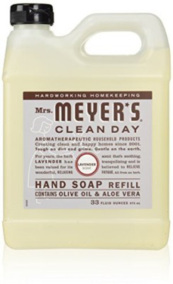 Mrs. Meyers Clean Day earth friendly, mrs. meyers liquid hand soap refill lavender scent(6 pack)