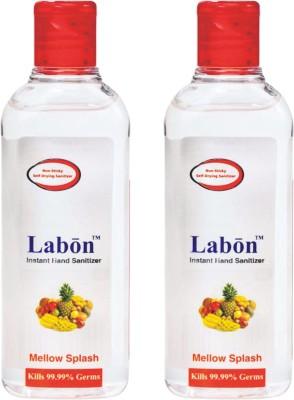 Labon Instant - Combo Pack of 2 - 110 ML Mellow Splash (110 ML x 2 Packs) Hand Sanitizer