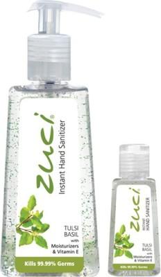 Zuci PACK OF 250 ML & 30 ML HAND SANITIZER- TULSI Hand Sanitizer