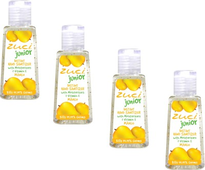 Zuci Junior Mango (30 ml)- Pack of 4 Hand Sanitizer