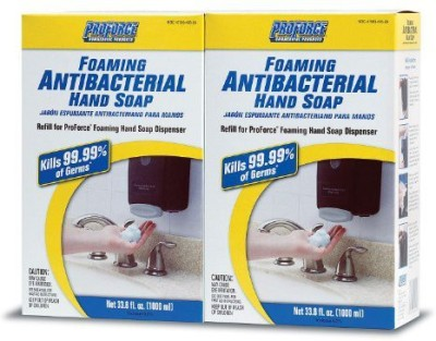 ProForce commercial foaming antibacterial hand soap