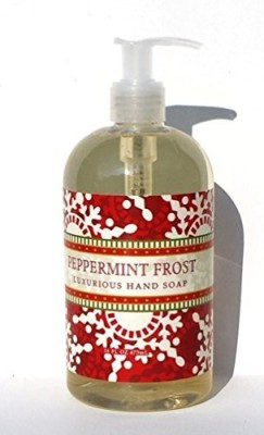 Greenwich Bay Trading Company peppermint frost luxurious hand soap by greenwich bay trading co