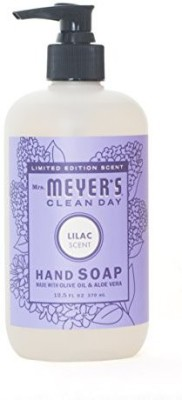 Mrs. Meyers clean day limited edition lilac scent hand soap -