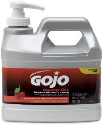 Gojo 2356-04 cherry gel pumice hand cleaner bottle (pack of 4)