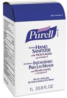 Purell 2156-04 nxt space saver refill, - advanced hand sanitizer (1000 ml) - 4 pack
