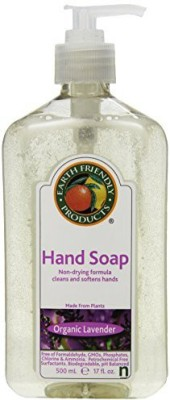 Earth Friendly Products hand soap, lavender bottle