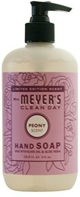 Mrs. Meyers clean day hand soap - limited edition peony scent