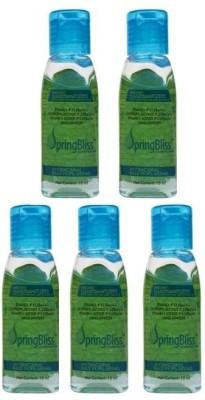 SpringBliss 15ML Mint Fragrance Bottle (Pack of 5) Hand Sanitizer(75 ml)