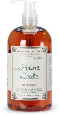 Stonewall Kitchen hand soap, maine woods
