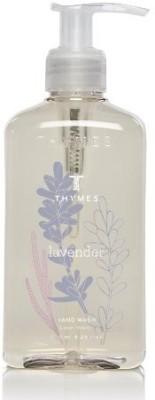Thymes hand wash, lavender pump bottle
