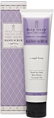 Deep Steep hand scrub, lavender chamomile