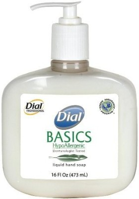 Dial 1747034 basics honeysuckle floral white pearl hypoallergenic liquid hand soap