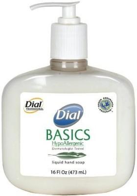 Dial 1747034 basics honeysuckle floral white pearl hypoallergenic liquid hand soap