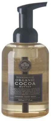 Greenscape organic cocoa butter natural soap free foaming hand wash